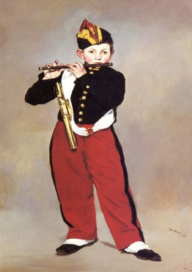 Manet, Edouard: The Fifer, 1866. Fine Art Print/Poster. Sizes: A4/A3/A2/A1 (00689)